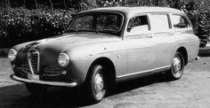 OG | 1955 Alfa Romeo 1900 Giardinetta | Prototype built by Ghia