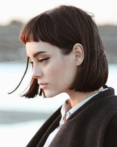 Girl Face, Woman Face, Portrait Inspiration, Hair Inspiration, Character Inspiration, Looks Pinterest, Corte Y Color, Hair Reference, Interesting Faces