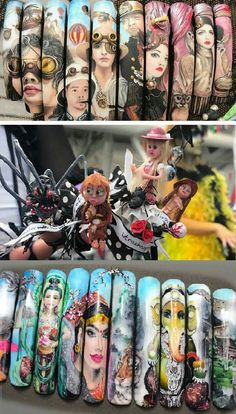 3d Nail Designs, Acrylic Nail Designs, Nails Design, 3d Nail Art, 3d Nails, Stiletto Nails, Top Nail, Creative Nails, Nails Inspiration