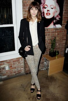 Alexa Chung Cool And Casual