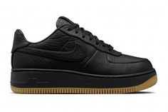 Nike Hides the Seams on New Leather Air Force 1 Up Step