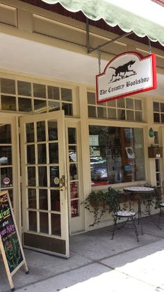 Situated in beautiful downtown Southern Pines (about an hour South of Raleigh). Find out more about this bookshop here!