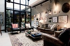 Loft in stile industriale ad Amsterdam Living Corriere