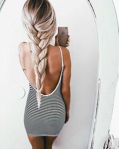 Summer dress instagram 4 braids