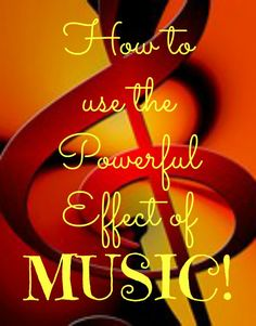 Music moves us. Music is powerful. Music changes us.