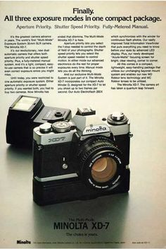 Vintage Camera Ads Part II: The Single Lens Reflex Cameras · Lomography