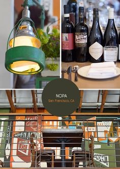 Nopa Restaurant in San Francisco. From the Spotted SF blog.