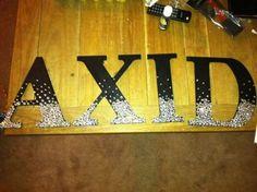 alpha xi delta axid letters