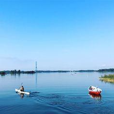 次回はカヌーもやってみたい#helsink #finland