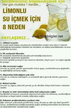 Limonlu su içmek için 8 neden, Zeyt… 8 reasons to drink lemon water, is that, # Handles zeytinyağlıyeFoods with Olive Oil, Health And Beauty, Health And Wellness, Health Tips, Health Fitness, Lemon Juice Benefits, Fitness Tattoos, Alternative Medicine, Healthy Drinks, Herbalife