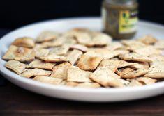 Homemade Crackers via @kingarthurflour