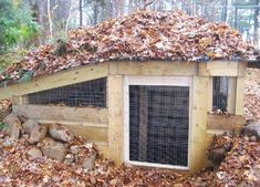 underground chicken coop idea for your homestead | DIY Woodworking Projects for your Homestead.
