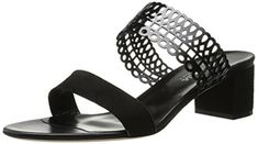 Aquatalia by Marvin K Womens Carissa Dress Sandal Black Combo SuedePatentCalf 105 M US ** You can get additional details at the image link.(This is an Amazon affiliate link and I receive a commission for the sales)
