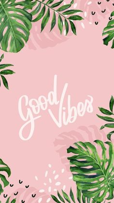 samsung wallpaper pastel Good Vibes Wallpaper from Gocase, leaves, fern, . - - 2019 - Privacy screen - Good vibes wallpaper from Gocase leaves fern 2019 Good Vibes Wallpaper -