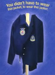 ANYONE who supports agriculture education can be an FFA Alumni member--blue jacket or not--if you believe in the future of agriculture, FFA Alumni welcomes you!