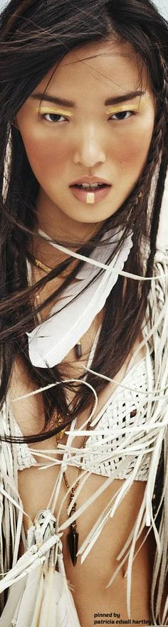 Tian Yi  ≫∙∙☮ Bohème Babe ☮∙∙≪• ❤️ Curated  by Babz™ ✿ιиѕριяαтισи❀ #abbigliamento #bohojewelry #boho