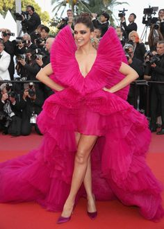 Deepika Padukone In Ashi Studio Couture, 2018 - The Most Artistic Gowns On The Cannes Red Carpet - Photos