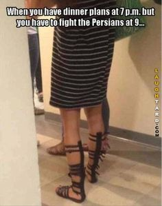 When you have dinner plans at 7pm  #humor #funnypictures #funny #lol #humor #funnyshoes