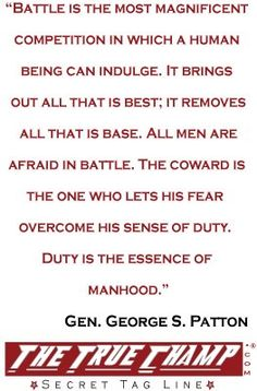 Quote by Gen. George S. Patton before battle. Battle in war or in the ring, this applies. General Patton Quotes, George Patton, Old Blood, God Of War, Battle, Motivational Quotes, Spiritual, Military, How To Apply