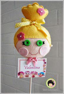 Wal Artesanal o site do feltro: As Lalaloopsy´s da Valentina...