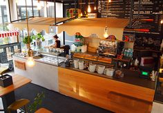 """A place that serves salads, soups & curries, ice creams, coffee, smoothies and juices, only deserves a name: """"Mischbar"""" (Mixbar for the non-german speakers).The claim from Mischbar """"We bring you fresh local food"""" took us to our concept: an INDOOR MARKET…"""
