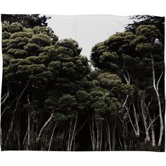 Chelsea Victoria Do Not Go Into The Woods Fleece Throw Blanket | DENY Designs Home Accessories