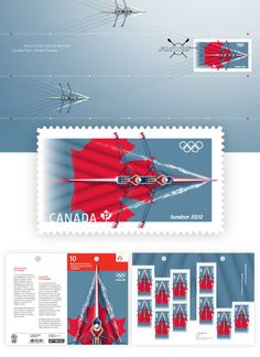 MY OLYMPIC PHILATELY: Canada : 2012 London Olympic Stamps