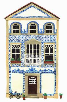 Azulejo - Catherine Pape Illustration