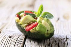 Buy Avocado salad by Vikif on PhotoDune. Avocado salad served in an avocado peel Heart Healthy Recipes, Healthy Foods To Eat, Low Carb Recipes, Healthy Eating, Avocado Good For You, Nutrition, Frijoles, Sugar Cravings, Avocado Salad