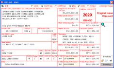 Original Issue Discount - Data is entered onto windows that resemble the actual forms. Imports recipient information from spreadsheets or delimited text files. Files Copy A electronically via IRS FIRE or on preprinted laser forms. Prepares recipient and payer copies on ordinary copy paper or PDF for eDelivery. Irs Forms, Copy Paper, Accounting, Software, Pdf, Fire, Windows, The Originals, Ramen