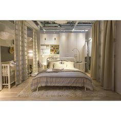 Новые интерьеры - IKEA ❤ liked on Polyvore featuring home, children's room and children's bedding