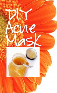 DIY Acne Mask with Probiotics