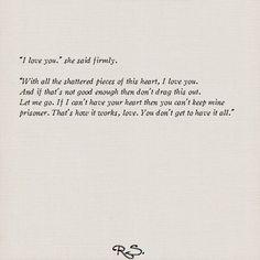 I love you she said firmly..