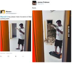 15 Asking for Photoshop help from James Fridman is a slippery slope Photos) Funny Photoshop Fails, Photoshop Help, Funny Fails, Funny Memes, Hilarious, Photoshop Images, Photoshop Actions, Funny Quotes, James Fridman