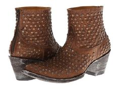 New in Box Womens Old Gringo Viruela Brass Studded Boots Size 7 5 MSRP $ 495   eBay
