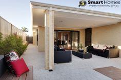 modern patio alfresco design  #patio #alfresco #smarthomesforliving