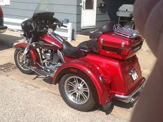 Harley-Davidson : Touring Harley Davidson Trike 2012