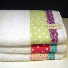 decorating towels idea