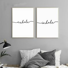 I love how this wall art reminds me to breathe and take things slow. This looks like it would create a more peaceful environment. Canvas Wall Decor, Canvas Art Prints, Wall Art Prints, Diy Canvas, Minimalist Canvas Art, Zen Home Decor, Wal Art, Zen Room, Room Art