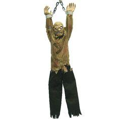 animated hanging zombie animated halloween propsanimationhappy