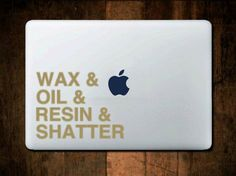 Dabs+Vinyl+Decal++car+sticker+laptop+decal+window+by+MtnFoxDecals