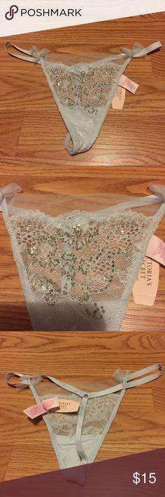 New Victoria Secret Thong (large) New Victoria Secret Thong (large) Victoria's Secret Intimates & Sleepwear Panties