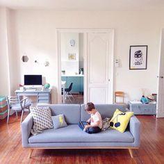 Salon au style scandinave / Scandinavian Home