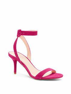 Victoria's Secret: Ankle-strap Mid-heel Sandal