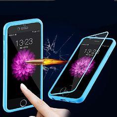 vormor® caso del tacto de la pantalla de ultra transparente para el iphone 6 (colores assoted) - USD $ 4.79