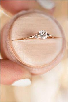 Simple Engagement Rings (23) #weddingrings #weddingideas