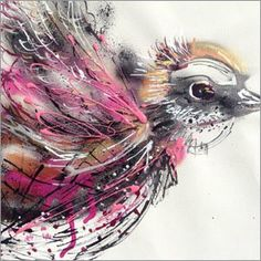 Create your own bird artwork using a range of Liquitex products. Makes a great present or for hanging on your wall at home or in the office.