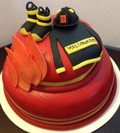 Birthday Cake Photos - Firefighter