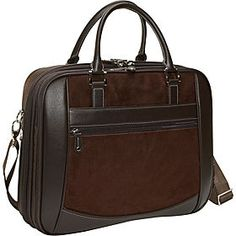 """Brown Leather 15"""" Laptop Bags and Computer Bags - eBags.com - ЭТО"""