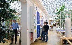 renzo piano building workshop studio visit paris designboom. the office itself is accessed through a separate doorway image © michel denancé